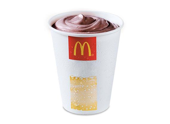Shake with chocolate