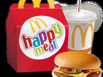 Happy Meal с Cheeseburger