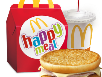 Happy Meal с McToast