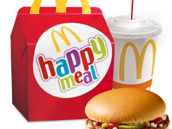 Happy Meal с Hamburger
