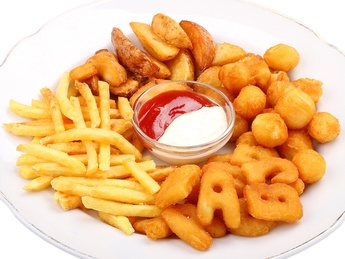 Assorted French Fries with Sauce