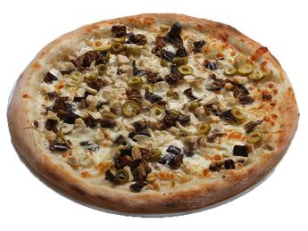Pizza medium Blanca