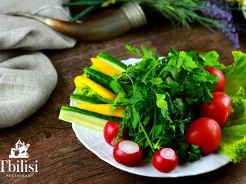 Mix din legume și verdeață