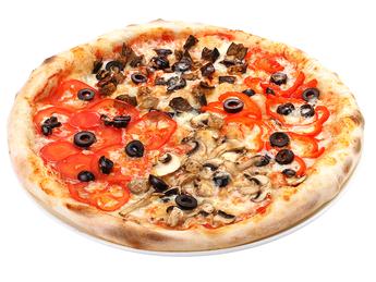 Pizza medium Quattro vegetariano