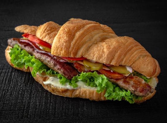 Круассан Crossburger