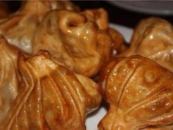 Khinkali prăjit