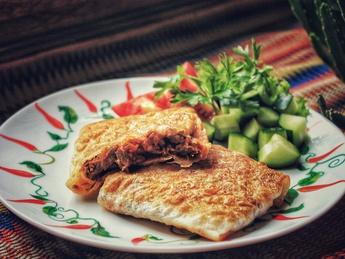 Чимичангас с мясом и овощами