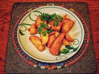 Картофельный дольки по-мексикански
