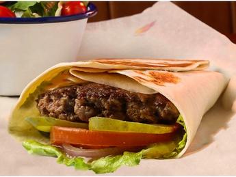 Легкий бургер с говядиной