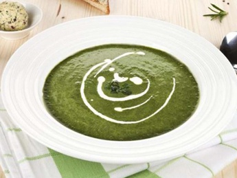 Шпинатный суп-крем