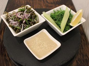 Seaweed hyashi & kombu