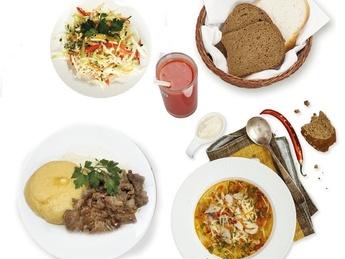 Business lunch - Понедельник