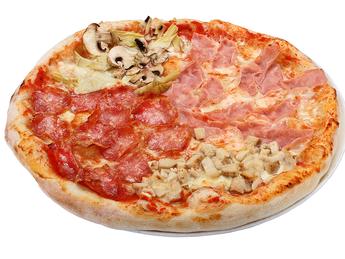 Pizza medium Quattro Stagioni