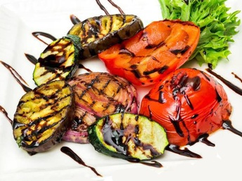 Asorti din legume la grătar