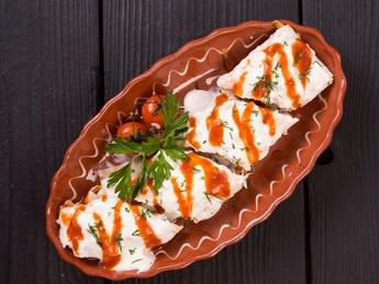 Lula-kebab yogurt