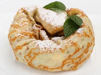 Banana and nutella pancake