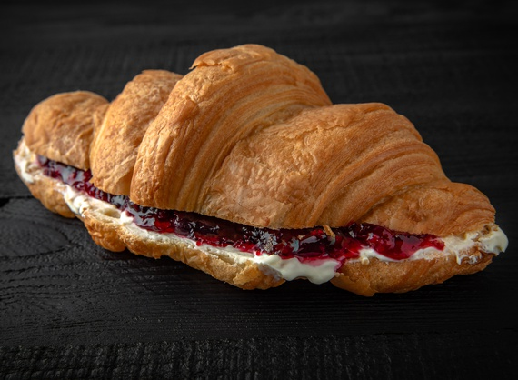 Croissant Jelly Berry