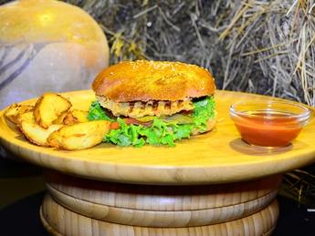 Lentile burger