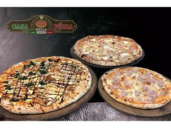 Большая пицца со вкусами на выбор за 220 лей
