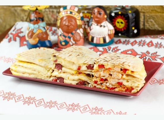 Quesadilla con Chorizo