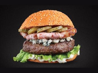 Burger Bacon Blue