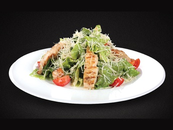 Salad Caesar with chicken fillet
