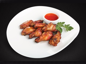 Chicken glazed wings