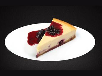Currant cheesecake