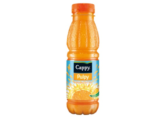 Cappy Pulpy orange