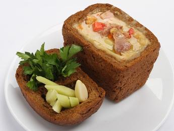 Суп гороховый по Чешски