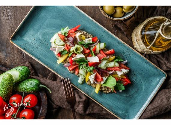 Greek-style appetizer