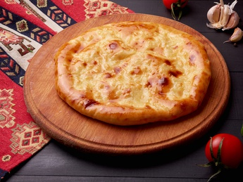 Khachapuri with meat