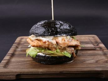 Black & White burger