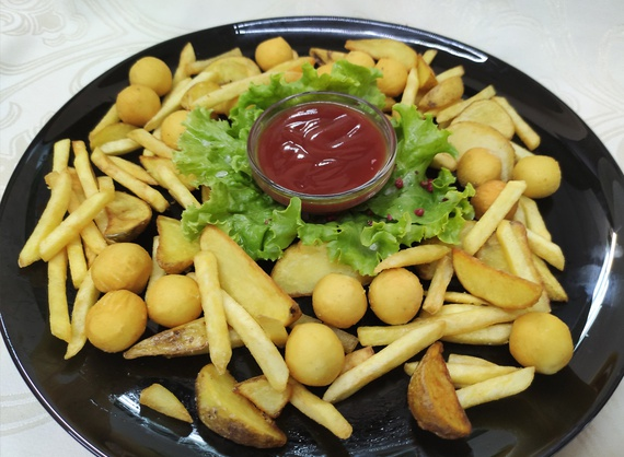 Assorted french fries