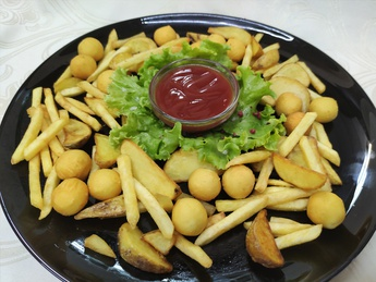 Картофель фри ассорти