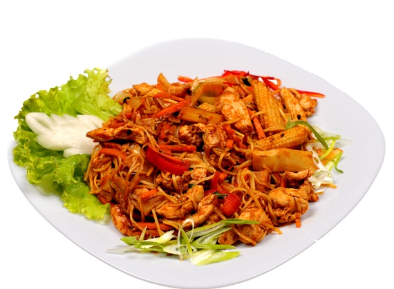 Chiang mai noodles with chicken | Order Delivery Chiang mai noodles ...