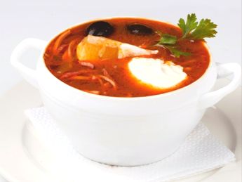 "Russian soup ""Soleanca"""