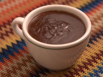 Настоящий густой горячий шоколад