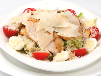 "Salad ""Caesar with chicken"""