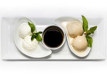 Branded ice cream Kozel