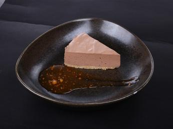 Cheesecake din ciocolată cu chili