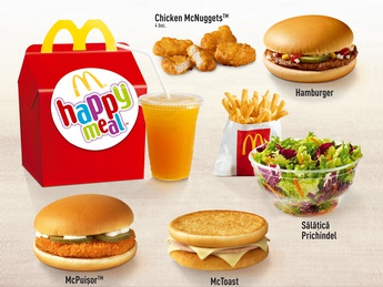Happy Meal cu Cheeseburger