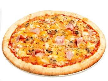 Pizza Șuncă și ciuperci (30cm)