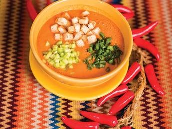 Cold spanish soup Gazpacho