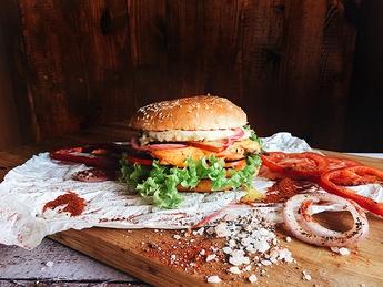 Chicken burger №1
