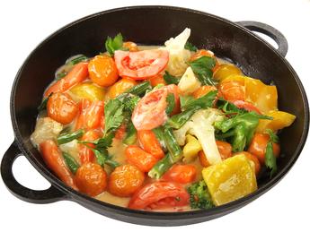 Сковорода с овощами