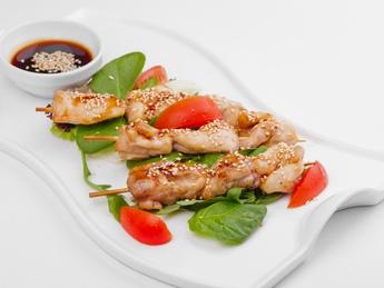 Chicken BBQ with Teryaki sauce