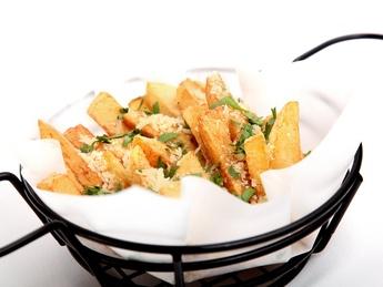 Truffle parmesan fries large portion