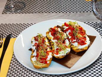 Tapas with peppers