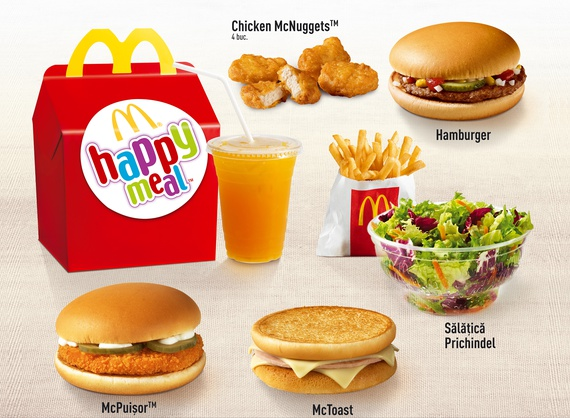 Happy Meal with McNuggets